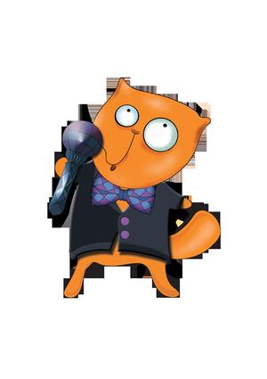 кот-микрофон